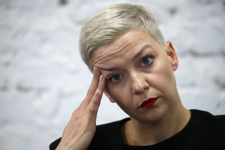 Maria Kalesnikava. Fot. PAP/EPA