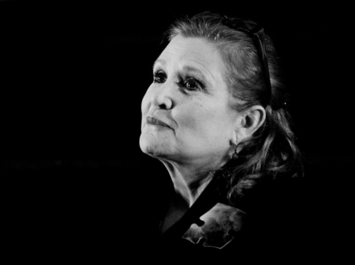 Carrie Fisher. Fot. PAP/EPA