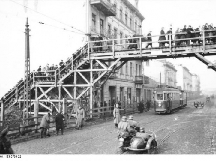Litzmannstadt Getto. Fot. Bundesarchiv. Źródło: Wikimedia Commons