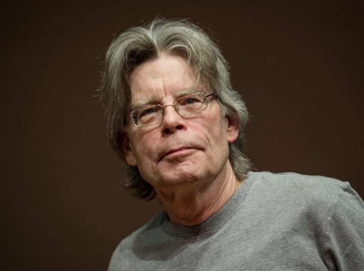 Stephen King. Fot. PAP/EPA