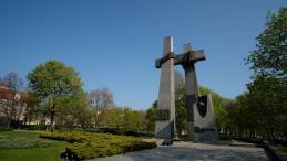 Pomnik Poznańskiego Czerwca 1956 roku. Fot. PAP/J. Kaczmarczyk