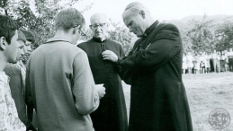 Ks. Franciszek Blachnicki i kard. Karol Wojtyła. Źródło: IPN/Instytut im. ks. Franciszka Blachnickiego