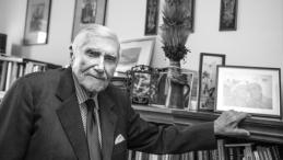 Profesor Witold Kieżun. Fot. PAP/L. Szymański