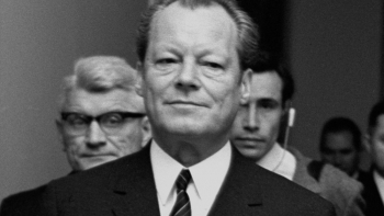 Willy Brandt. Fot. PAP/CAF/M. Szyperko