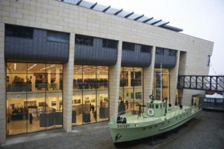 161fd77580559 Nowo otwarty gmachu Muzeum Marynarki Wojennej w Gdyni. Fot. PAP/A. Warżawa