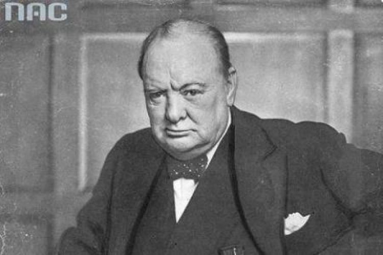 Winston Churchill. Fot. NAC