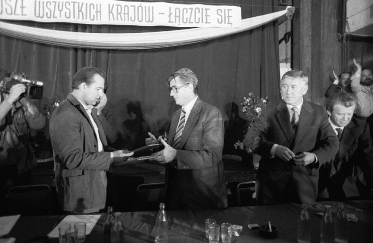 Porozumienie Szczecińskie | dzieje.pl - Historia Polski