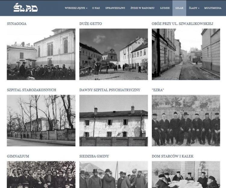 Strona internetowa getta
