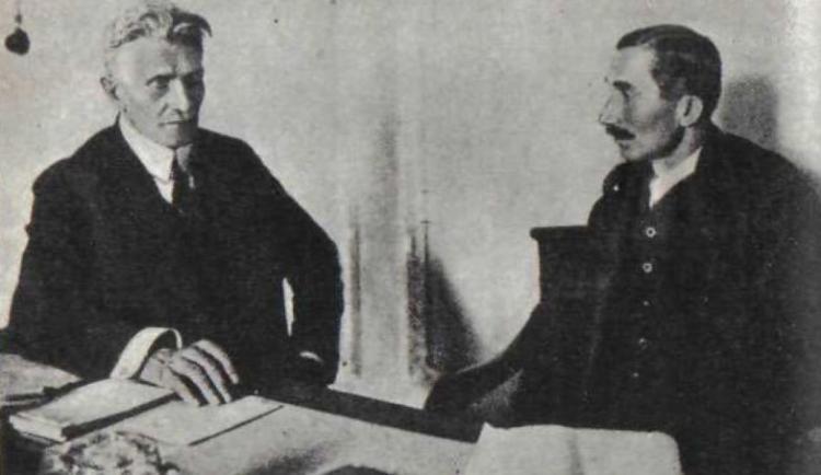 Znalezione obrazy dla zapytania witos i piłsudski