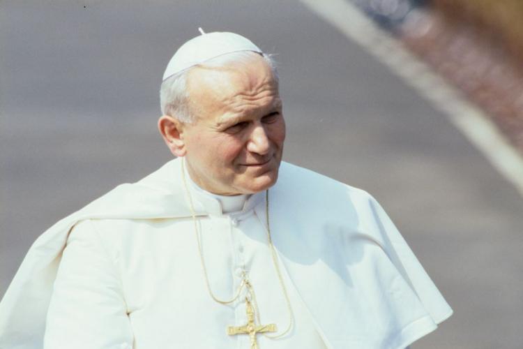 Jan Paweł II. Fot. PAP/W. Kryński