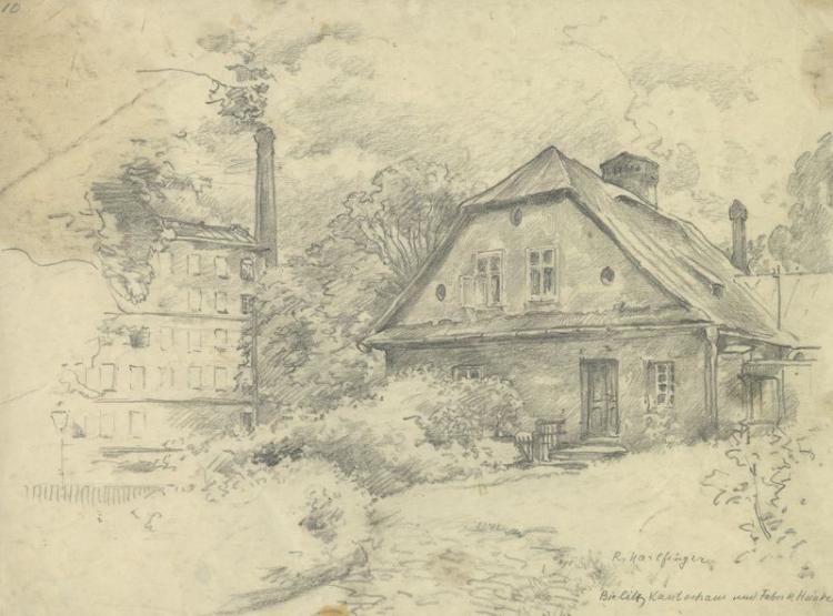 Bielsko. Dom Kantora i fabryka Hoinkesa. Fot. Muzeum Historyczne w Bielsku-Białej