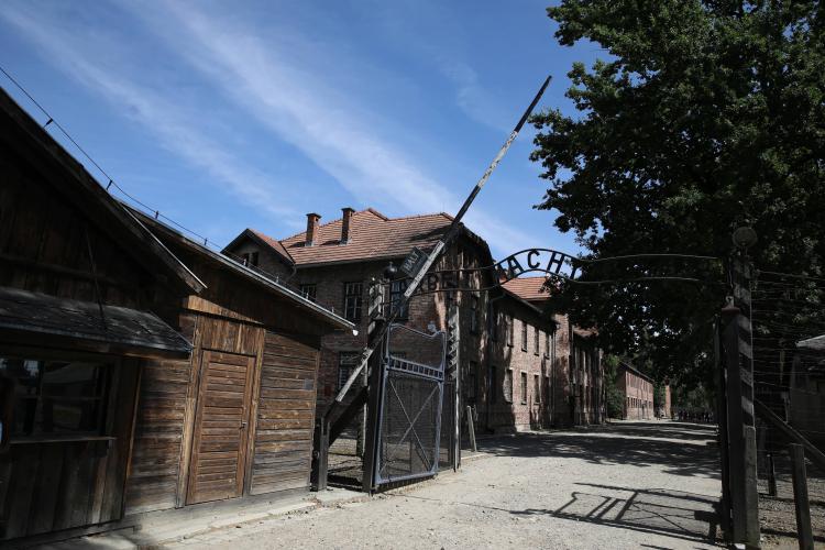 Niemiecki obóz koncentracyjny Auschwitz-Birkenau w Oświęcimiu. Fot. PAP/Ł. Gągulski